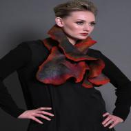 Jennifer Giles: Coral Scarf