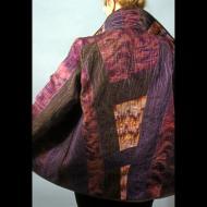 Robert Dachenhausen: Marbled silk jacket