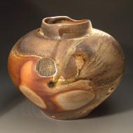 John Benn: Woodfired vase