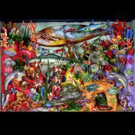 Nicario Jimenez: Sea Life (Detail)