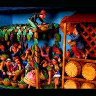 Nicario Jimenez: The Grape Harvest (Detail)