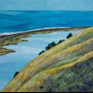Ann Munson: The Spit, Ebey's Landing