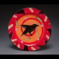 Natalie Warrens: Red crow