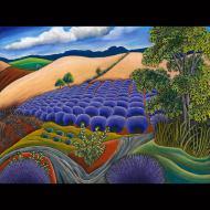 Jane Aukshunas: Lavender Hommage