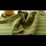 Beth Poirier: Handwoven Towel - Yellow