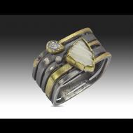 Janine DeCresenzo: Coral and Diamond Ring