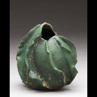 Charles Gluskoter: Fluted vase