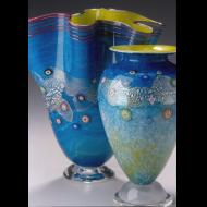 Ken Hanson: Meadow Fan and Vase New