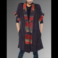 Karen Gelbard: Pieced Kimono Style Vest