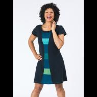 Amy Daileda: Time Travel Dress in Ocean Blues