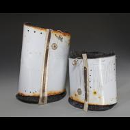 Caroline Viene: Cuffs: Repurposed Steel Series