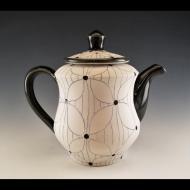 Matt Conlon: Flower with Lines Teapot