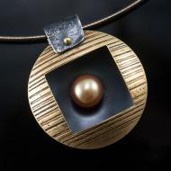 Ashley Heitzman: 18 Pearl Nest Pendant