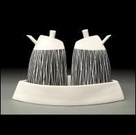 Lynda Ladwig: prow oil and vinegar set