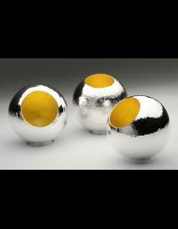 Nile Fahmy: Silver Orbs, group shot