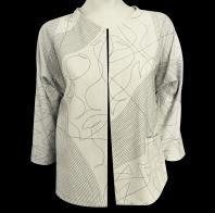 Billie Barthelemy: Reversible Silk Jacket