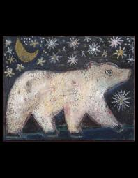 Jill Mayberg: White Bear Starry Sky