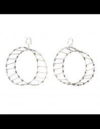 Meghan Riley: Mobius Strip Earrings