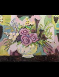 Gia Whitlock: Purple Roses