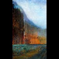 LuAnn Ostergaard: Multnomah Falls II
